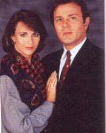 Colleen Zenk Pinter & Ben Hendrickson as Barbara Dixon & Hal Munson