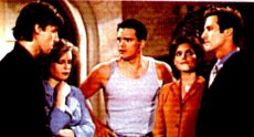 Damian(Paolo Seganti),Lily(Martha Byrne) and Holden(Jon Hensley)
